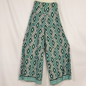 New Direction Blue Palazzo Pants size M